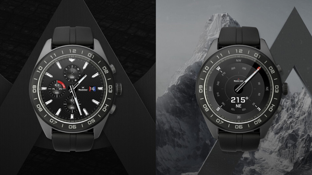 LG's new hybrid smartwatch features mechanical hands and a clumsy compromise