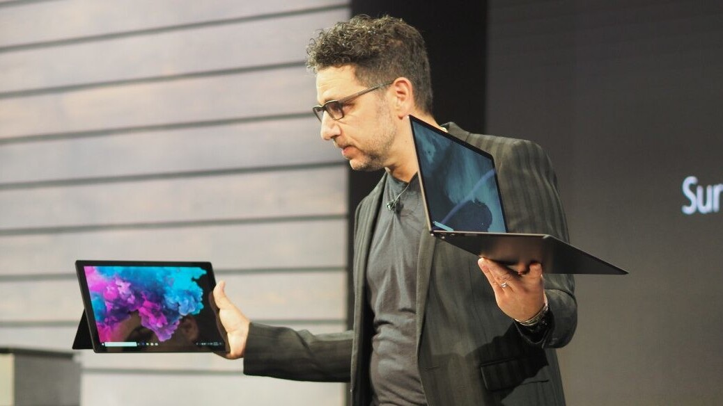 Microsoft unveils the Surface Pro 6 and Surface Laptop 2, back in black
