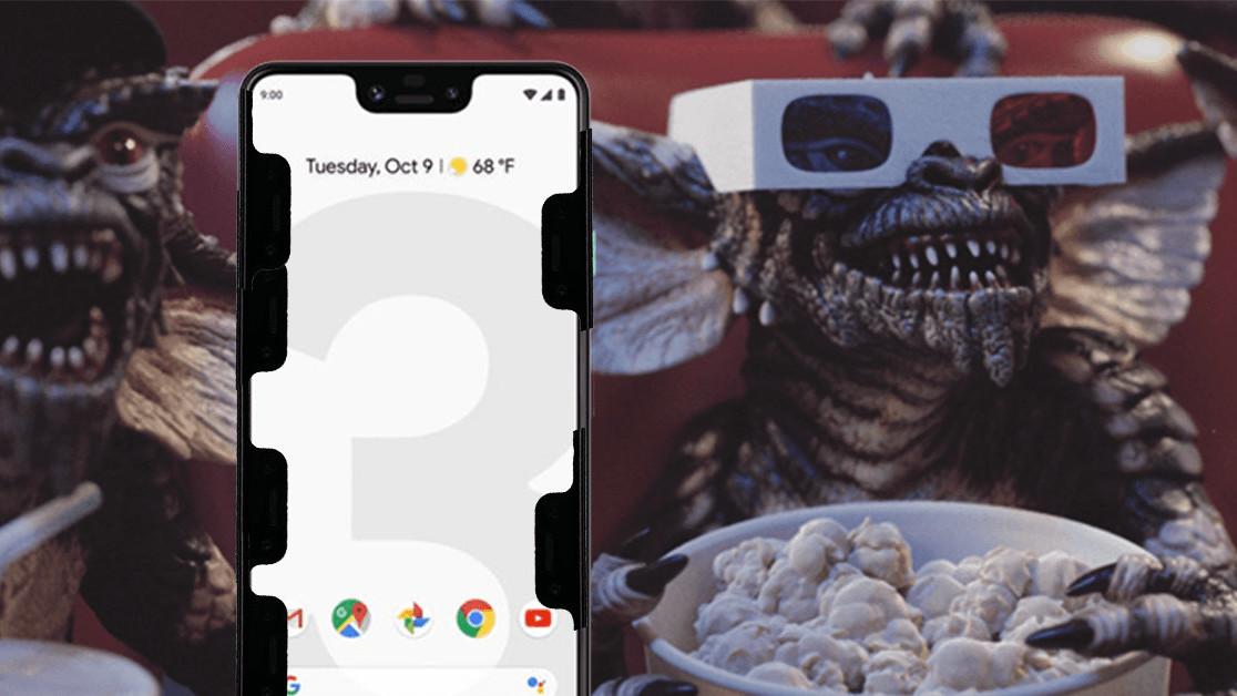 Google's Pixel 3 XL grows another notch lmao