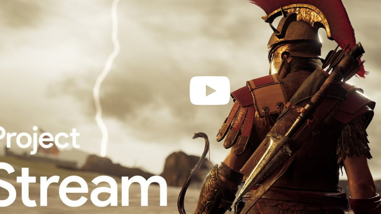 Google's Project Stream will let you play Assassin's Creed in Chrome