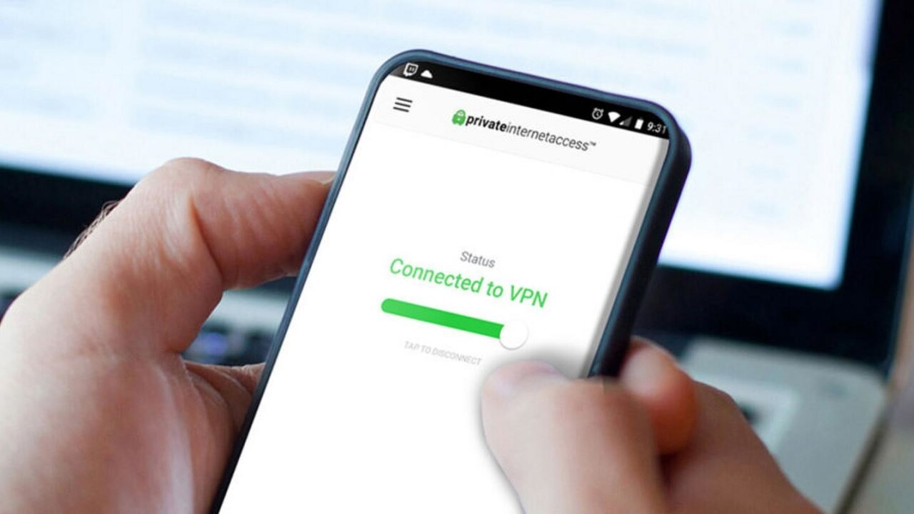 One of the web's most trusted VPNs, Private Internet Access, is on sale for almost 70% off