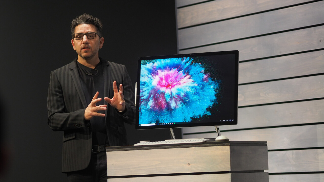 Microsoft's new Surface Studio 2 brings faster performance and a brighter display