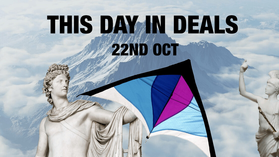 This Day in Deals: Why don't you just go fly a kite?