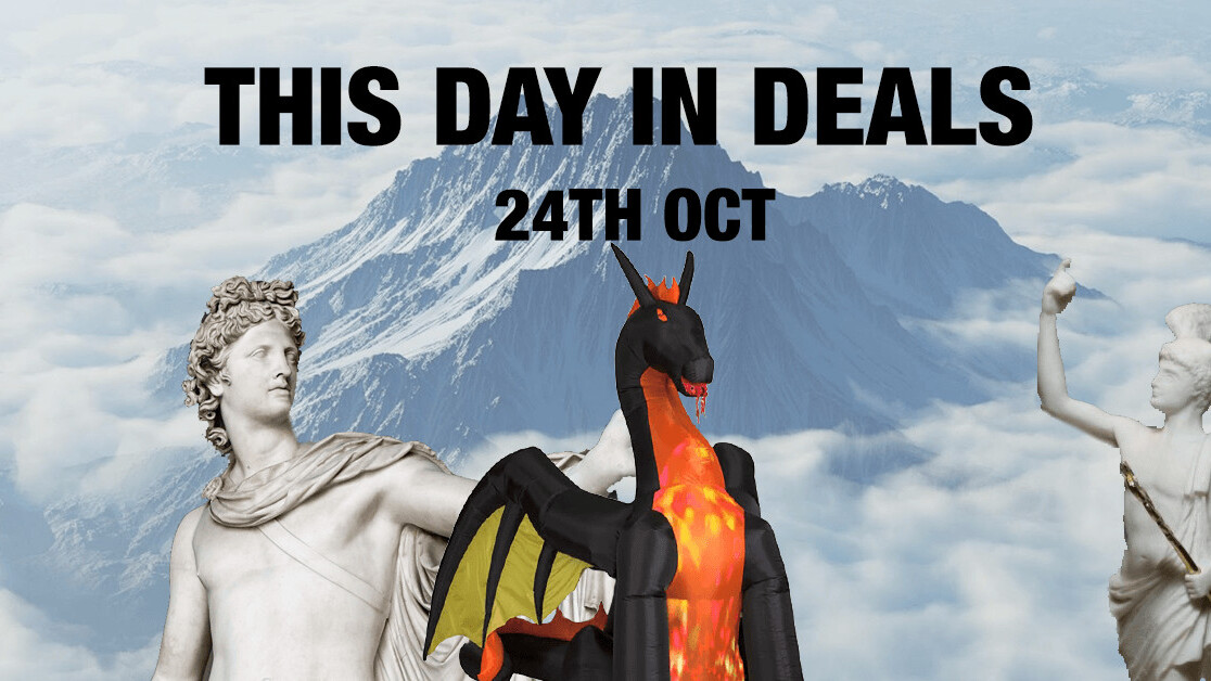 This Day in Deals: A 9ft inflatable dragon to earn you UNESCO recognition