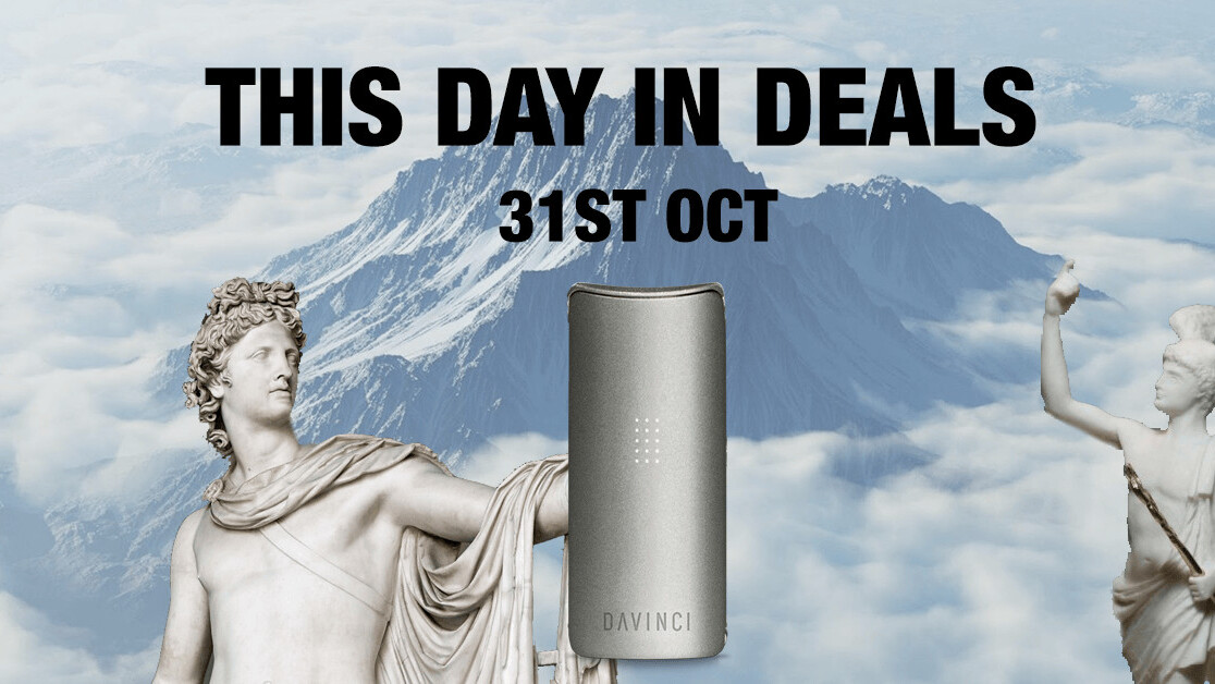 This Day in Deals: A weed vape for toasting important trade treaties