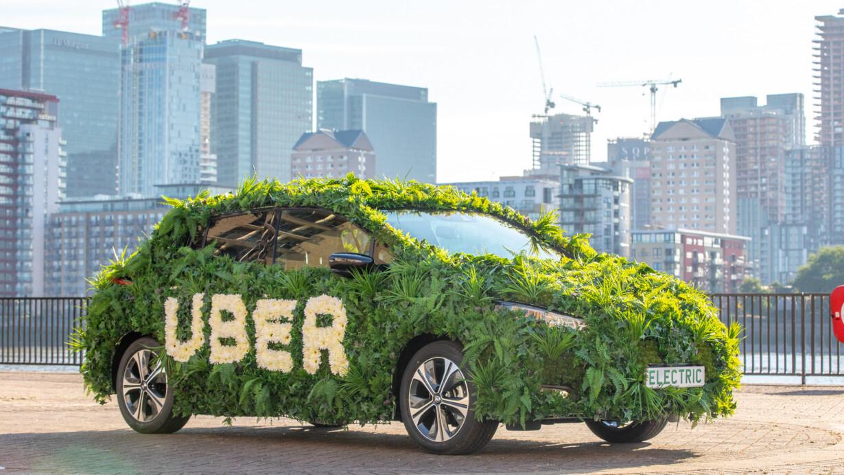 Uber unveils its £200M London Clean Air Plan