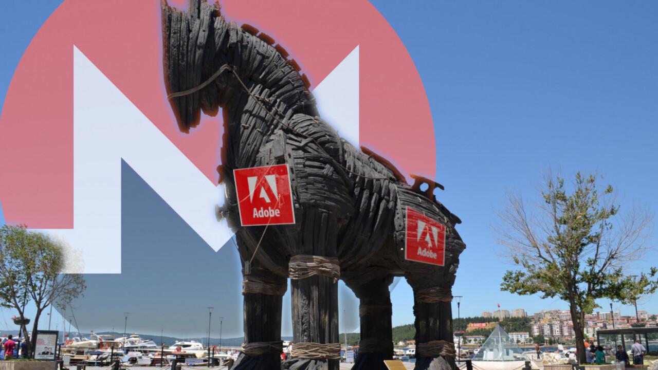 Hackers hide cryptocurrency mining malware in Adobe Flash updates