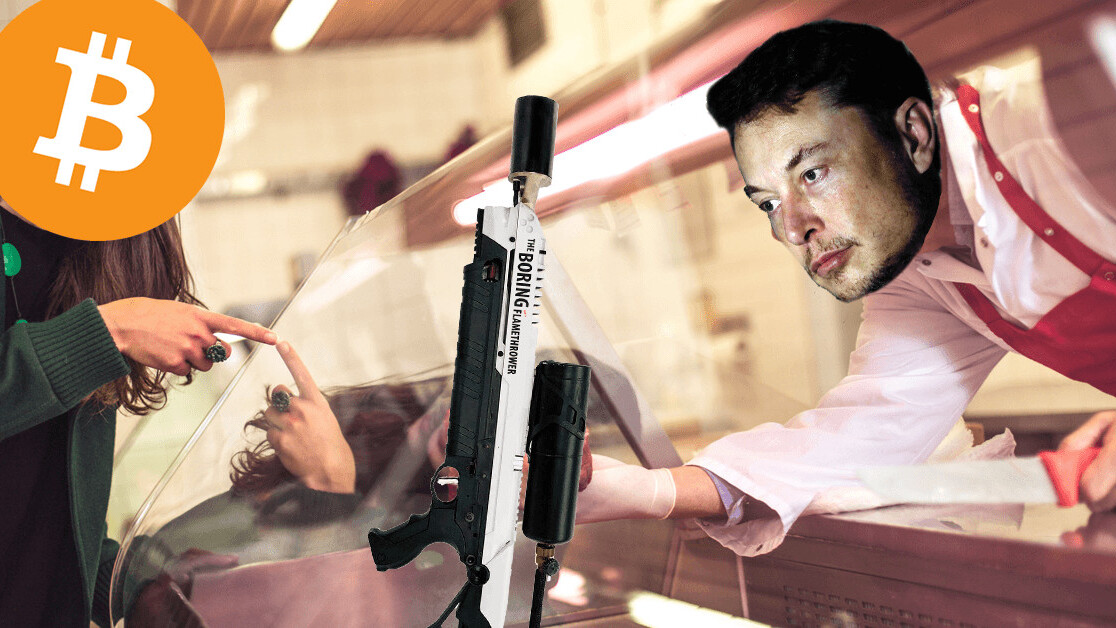 UPDATE: You (cannot) now buy Elon Musk's 'Not A Flamethrower' with Bitcoin