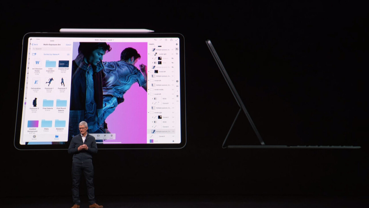 Apple unveils new iPad Pro with tiny bezels, Face ID, and USB-C