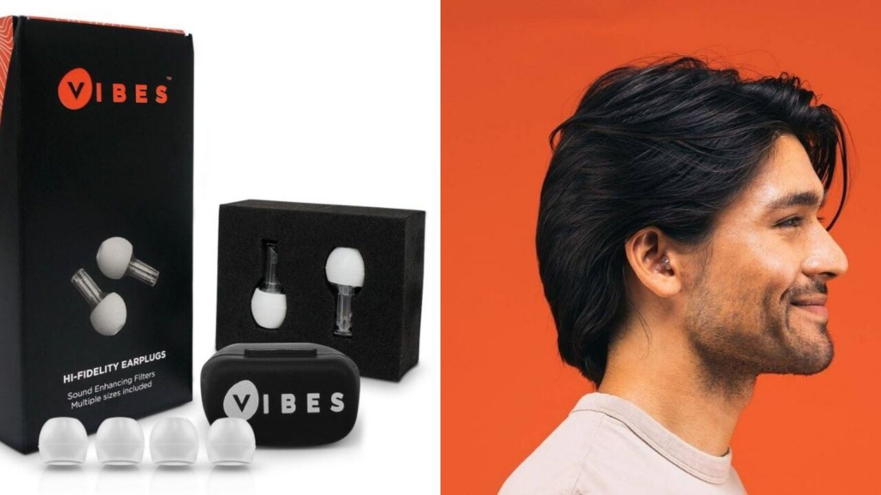 Vibes: The next-gen earplugs that save your hearing and the music…with a deal that saves you 25%