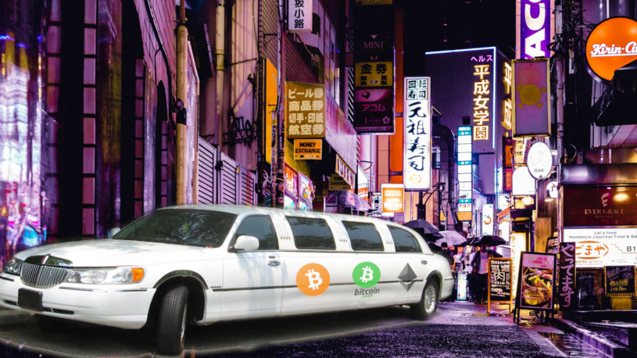 Tokyo travelers can now rent a limousine with Bitcoin