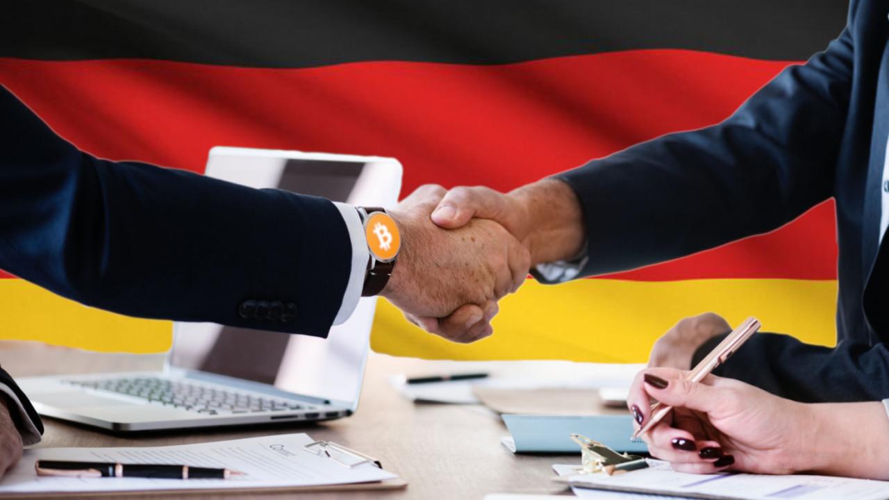 German Bitcoin exchange buys investment bank
