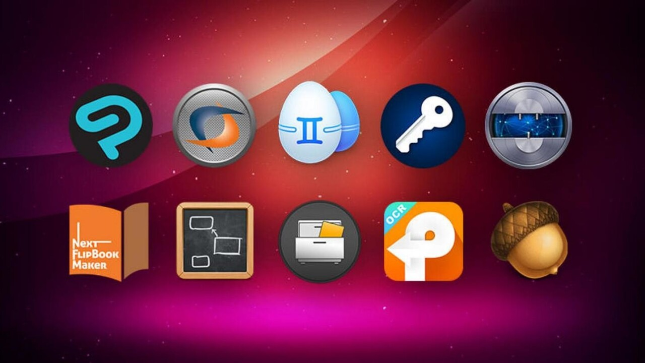 Pick up an all-star roster of high-end Mac apps for $20