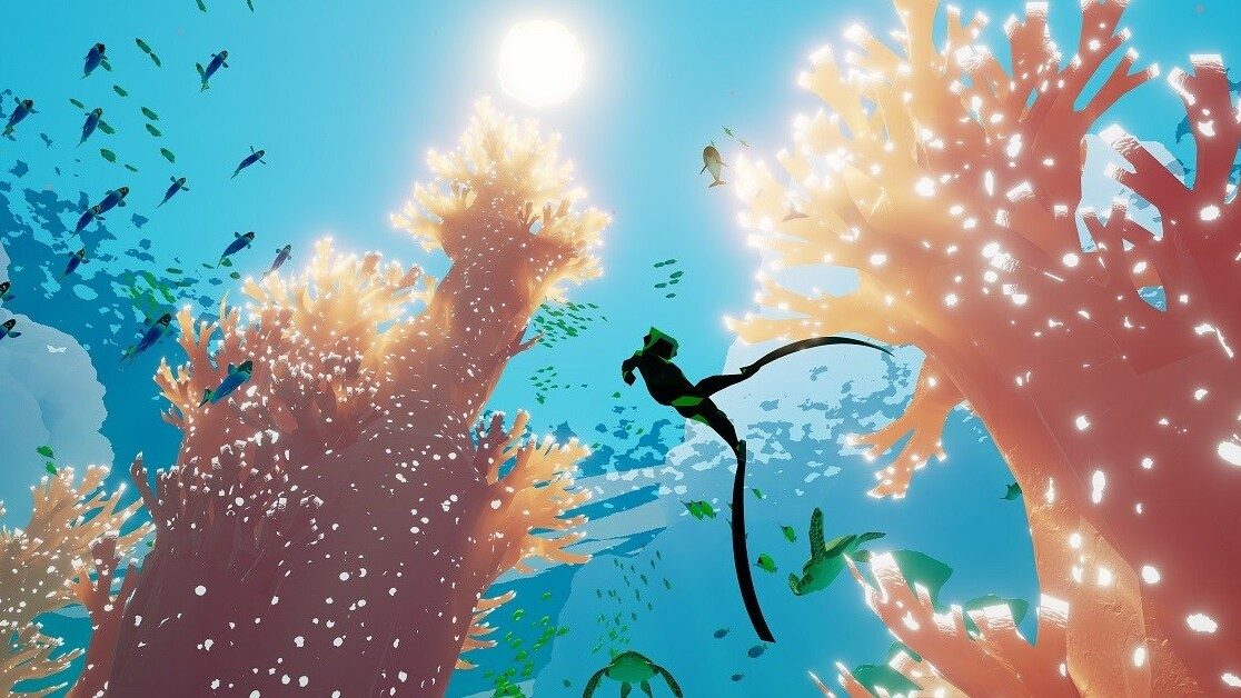 Abzû on the Switch: Stunning in the hands, hell for thalassophobia