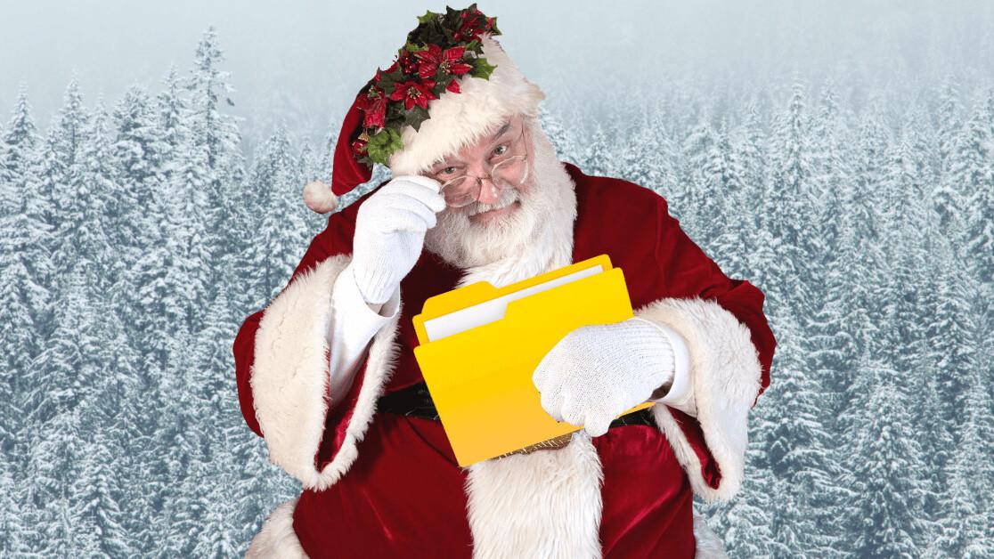 All I want for Christmas: Folders for Google Docs
