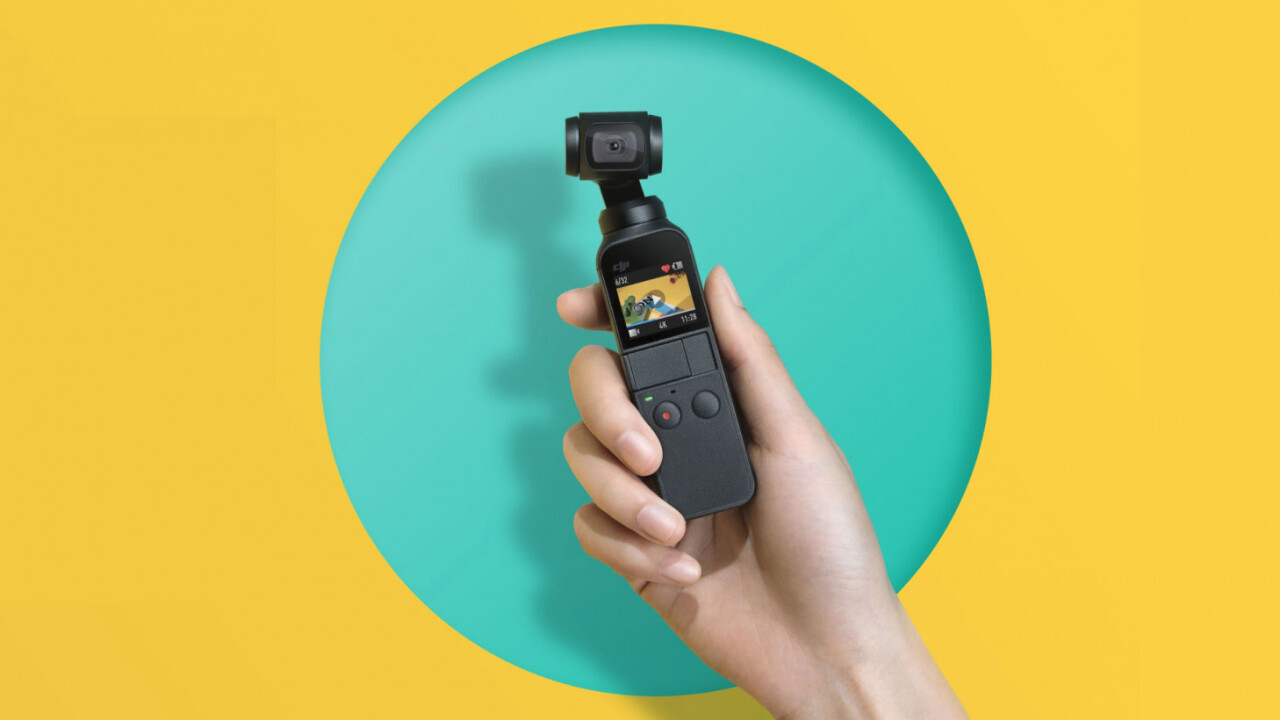DJI's Osmo Pocket is a tiny gimbal camera you can take anywhere