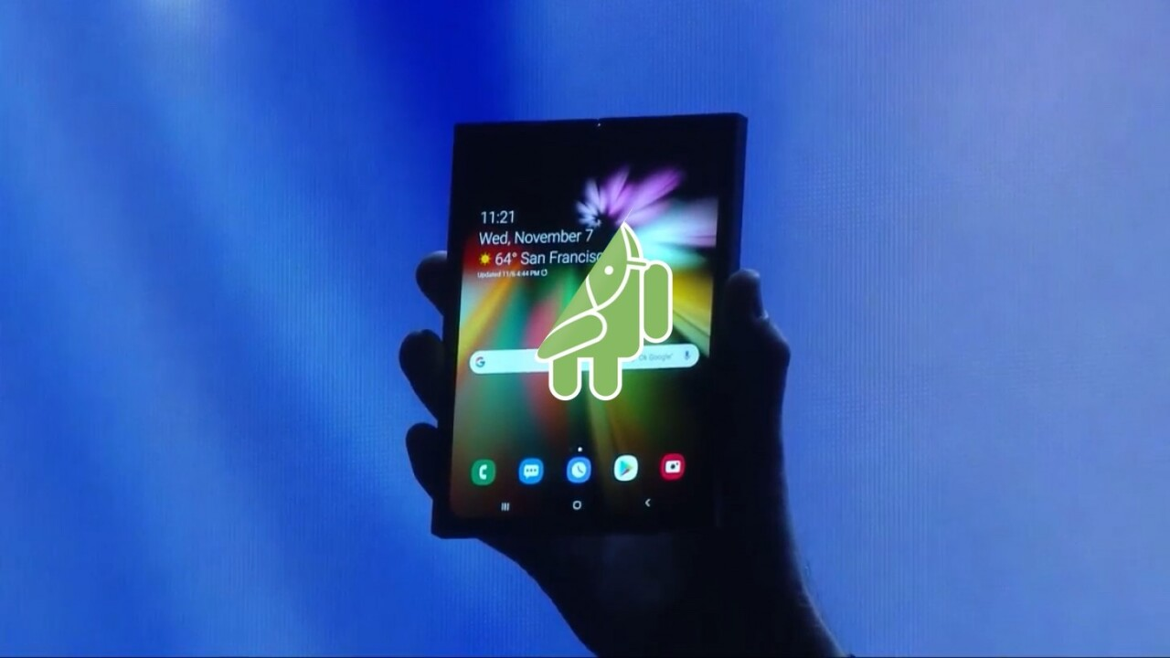 Google announces Android will support upcoming foldable phones