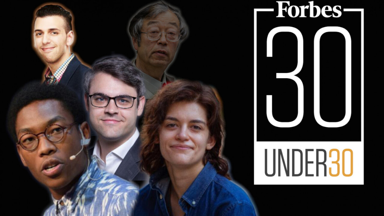 There are 4 blockchain entrepreneurs in Forbes' '30 under 30′
