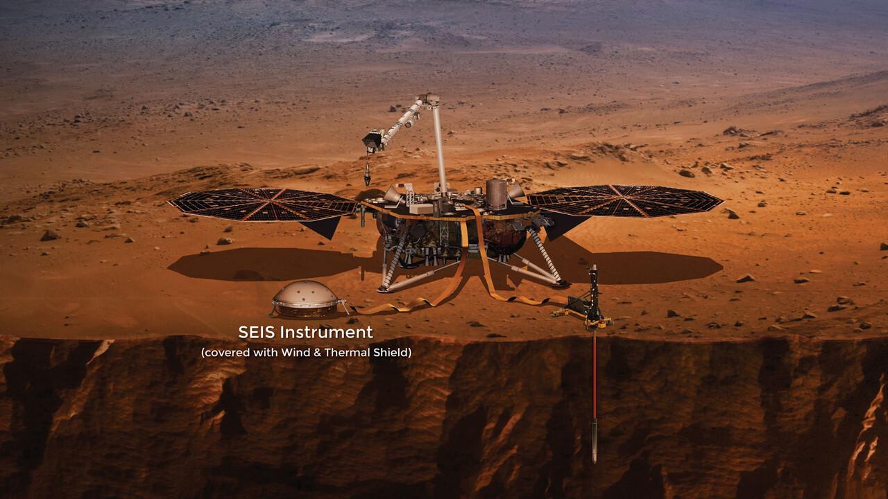 NASA's InSight probe successfully lands on Mars and deploys solar panels