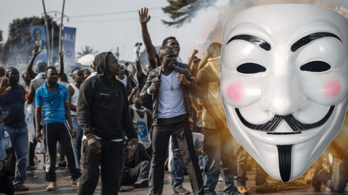 Anonymous hacked 70 Gabon government websites to protest dictatorship