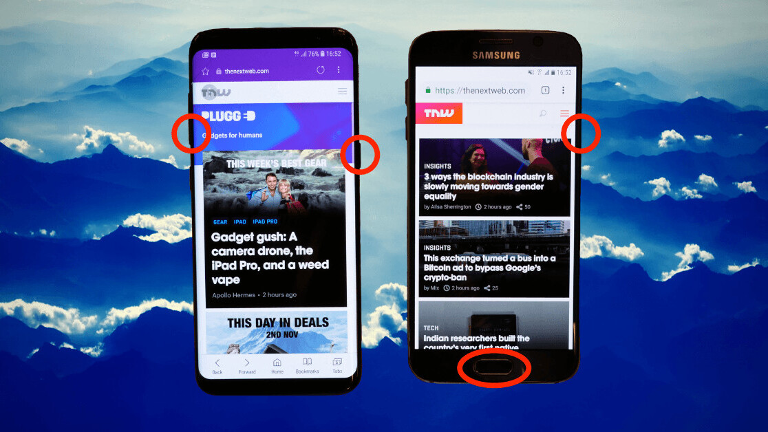 Here's how you take a screenshot on your Samsung Galaxy phone