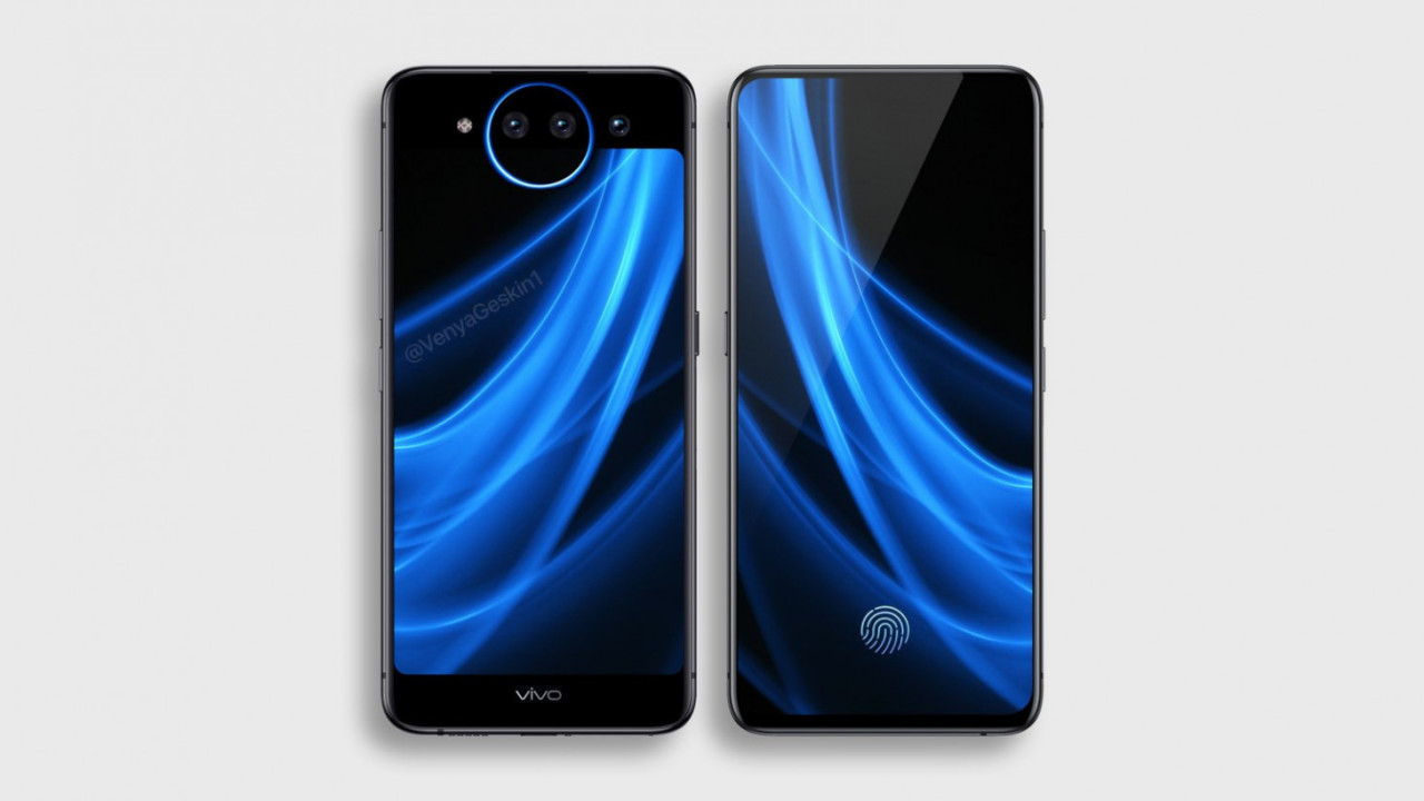 Vivo's bezel-less Nex 2 leaks with dual displays and 3 cameras