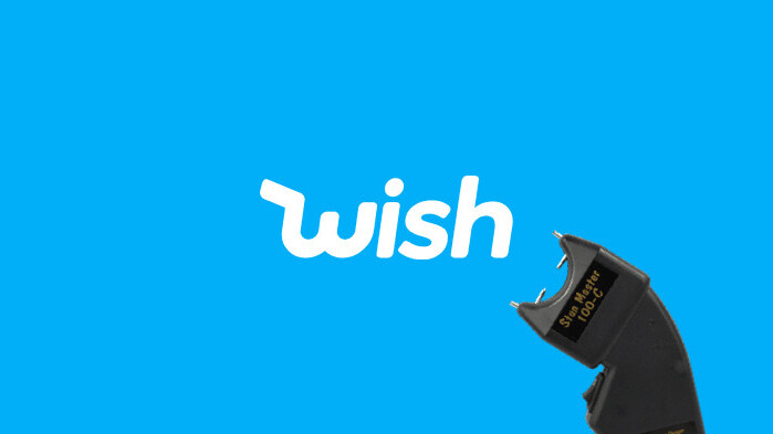 Why did Wish send me a push notification promoting an illegal weapon?