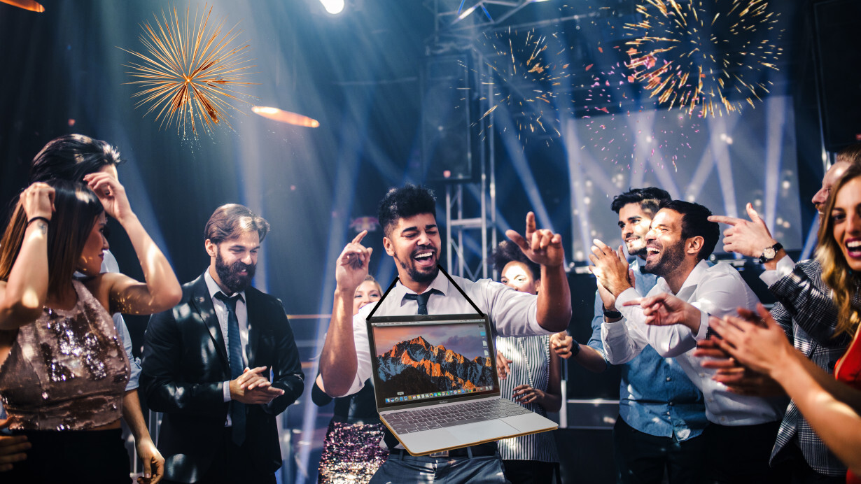 Here's how to throw an office party using your Mac laptop
