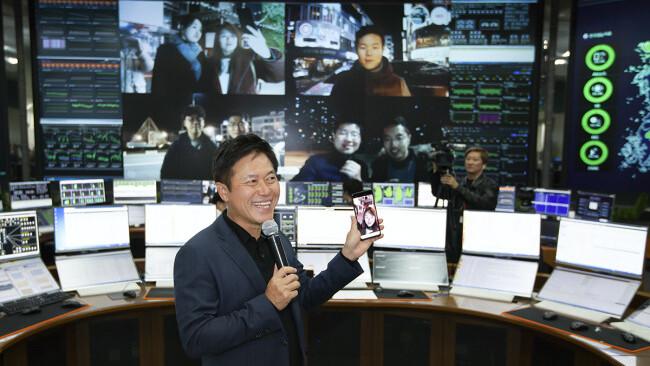 Korean network makes first consumer 5G video call using a Samsung phone