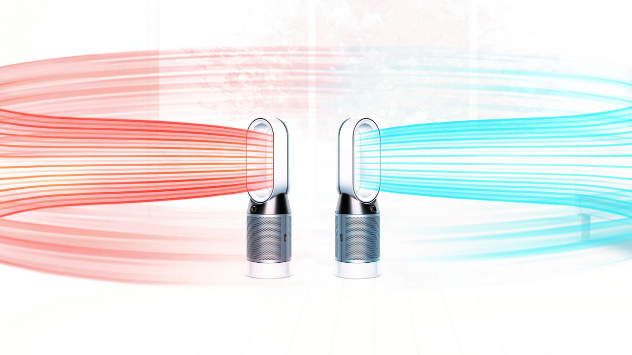 Dyson unveils new Pure Hot+Cool, a $650 heating fan and air purifier