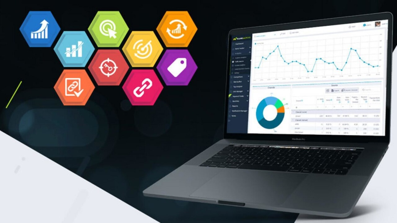 SEO drives search results. Control those rankings with RankActive SEO for $25