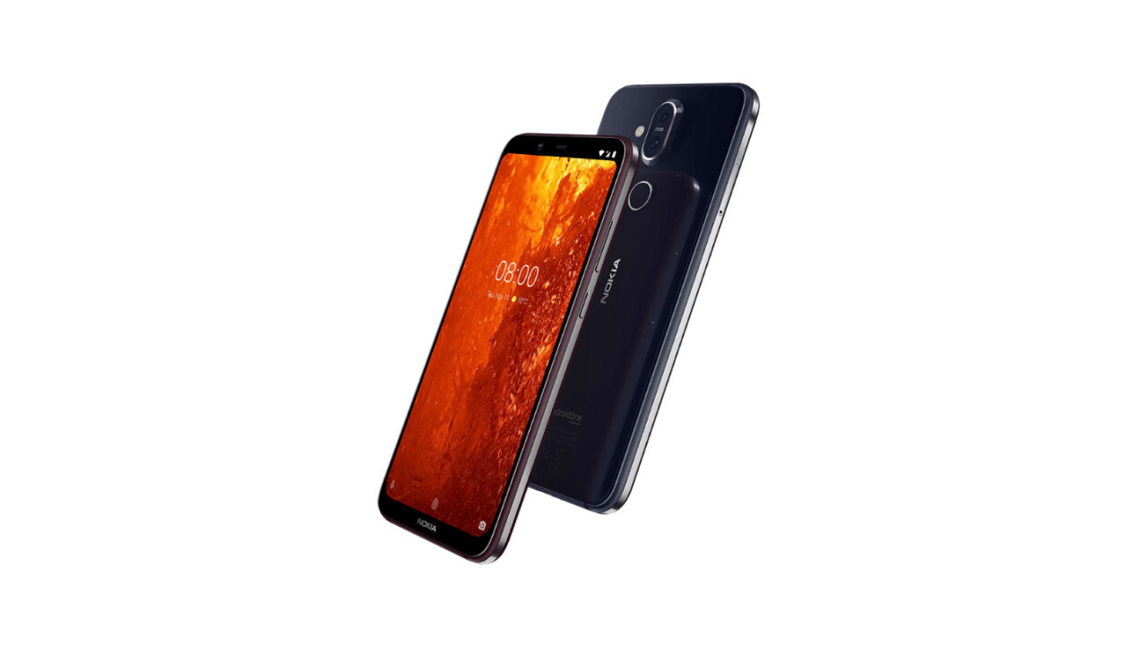 The Nokia 8.1 brings a touch of class to the mid-range