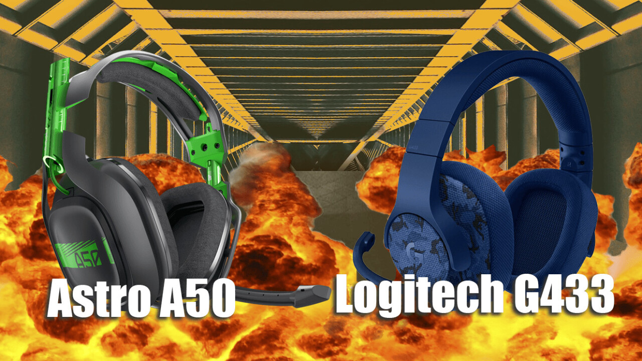 Comparison: Is Astro's A50 gaming headset worth $200 more than Logitech's G433?