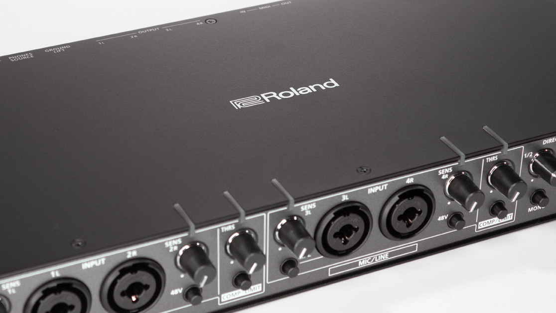 Roland's Rubix 44 is the perfect USB interface for your home recording studio