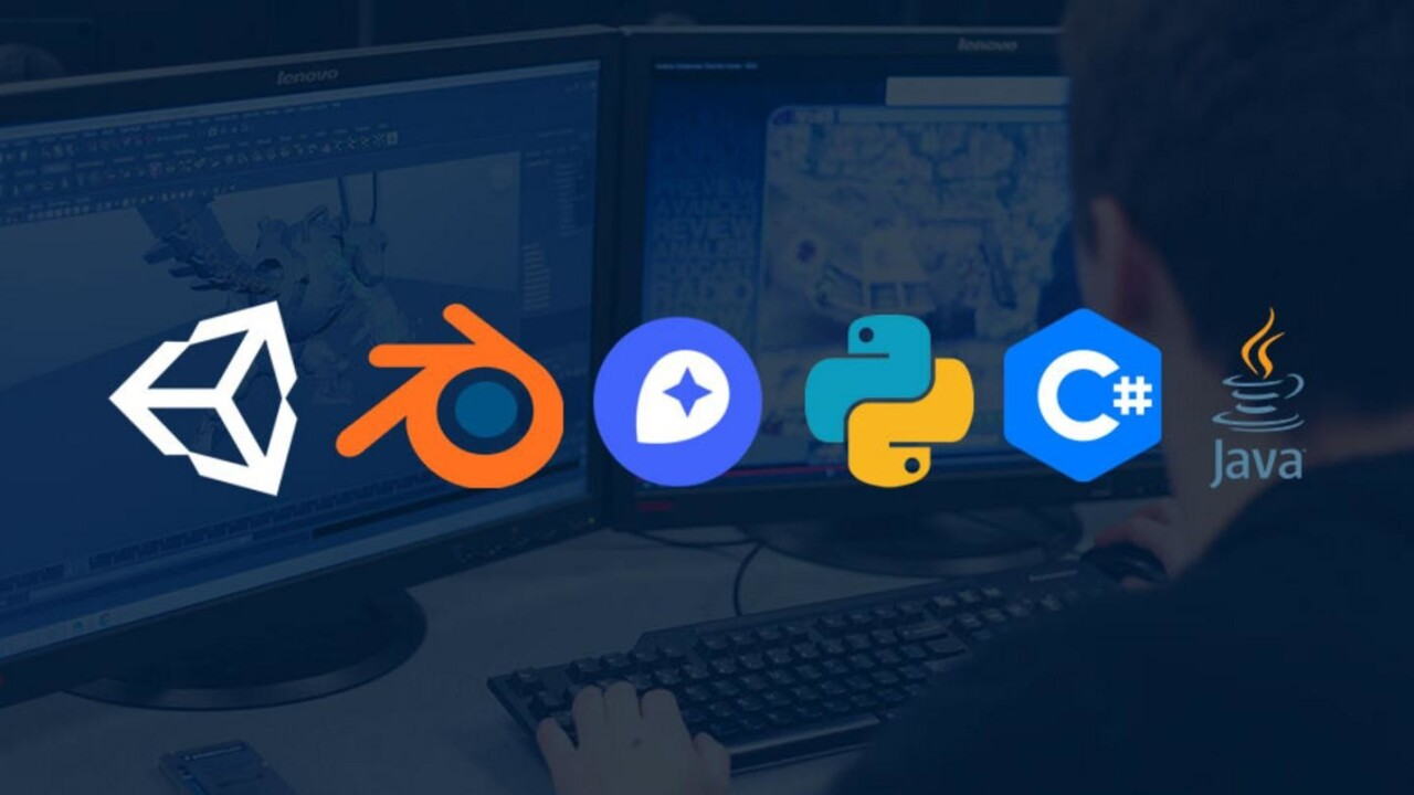 Learn how to create video games with the coolest tools around, all for $40