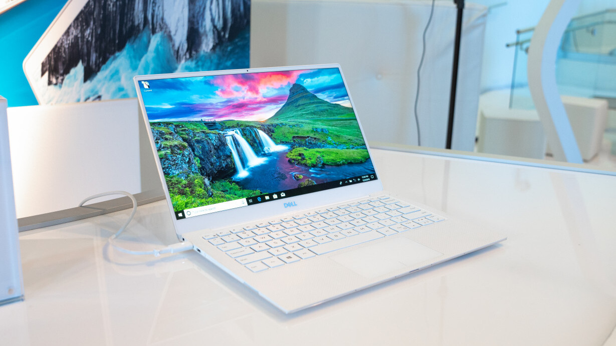 Dell's new XPS 13 puts the webcam above the screen, and all is right