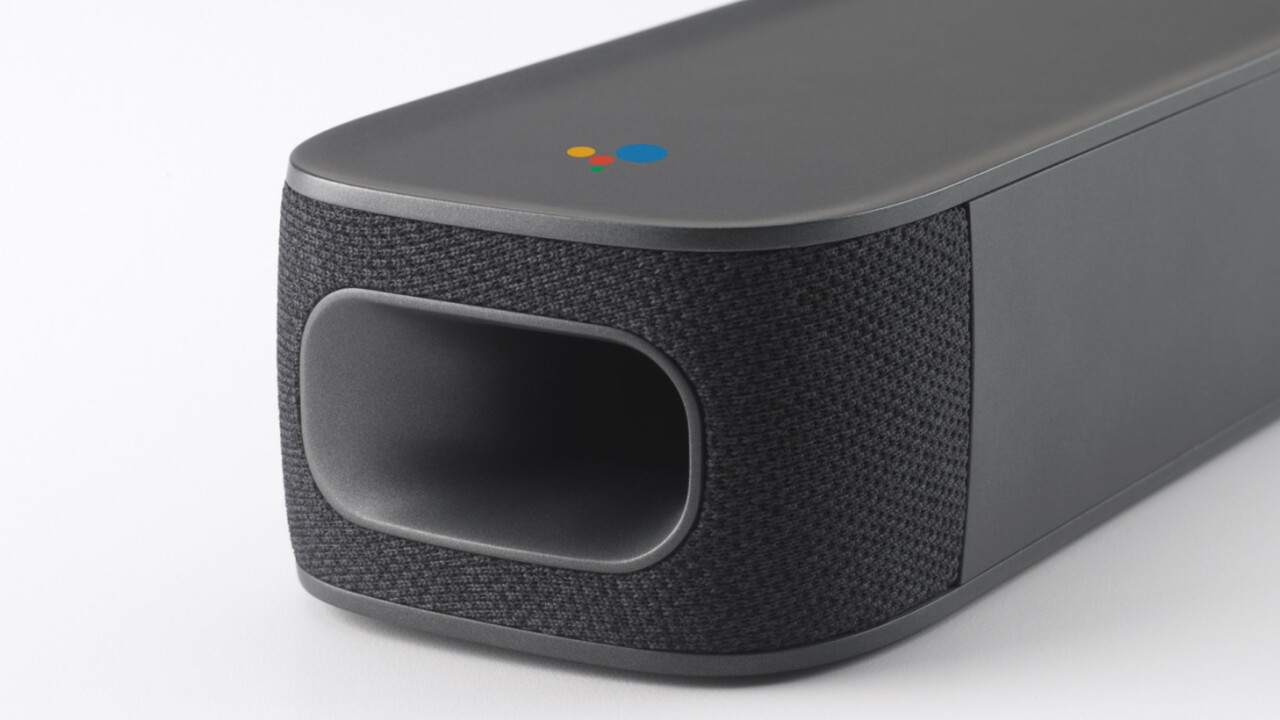 JBL's Android TV soundbar will ship this spring, maybe, finally, supposedly
