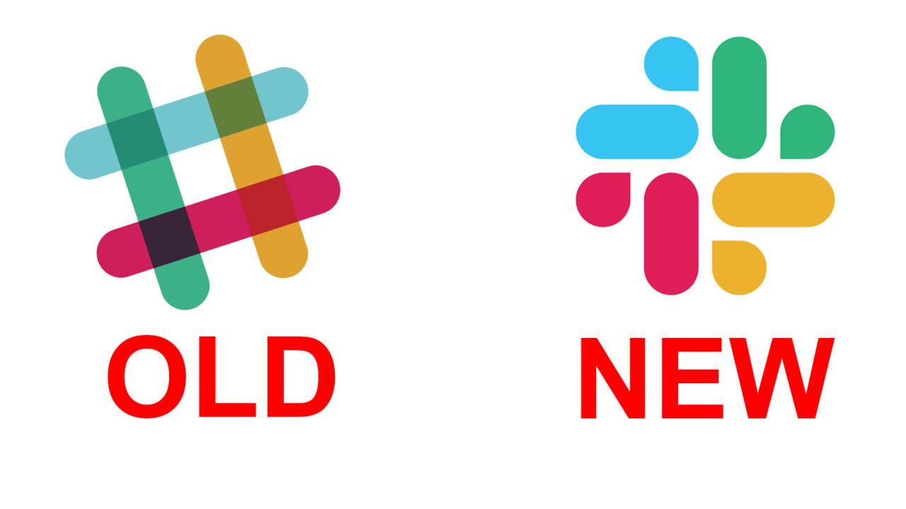 Slack has a new logo, and, umm, you be the judge
