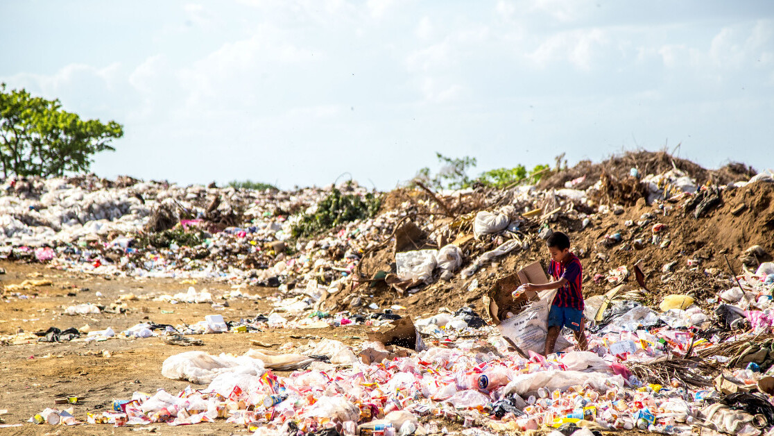 Recycling the world's plastic garbage could buy you the NFL, Apple and Microsoft