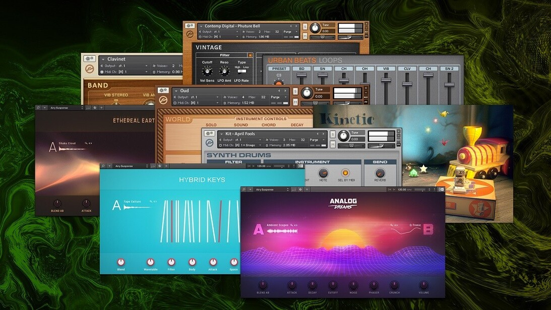 Native Instruments to integrate Sounds com into production