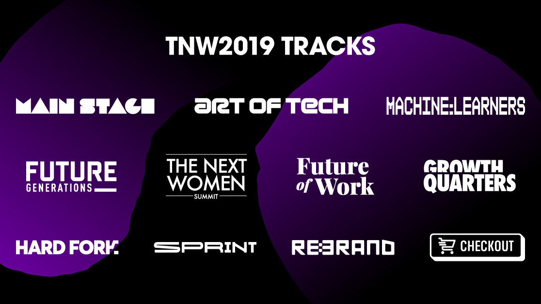 Check out TNW2019's 11 new tracks