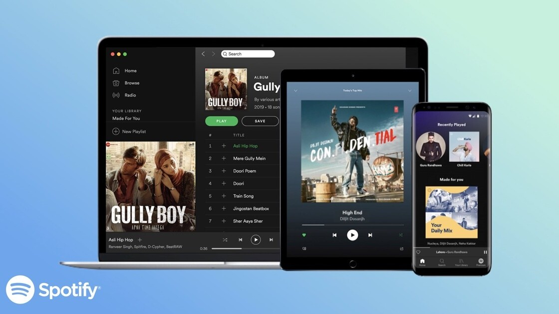Spotify officially launches in India, with free music on-demand