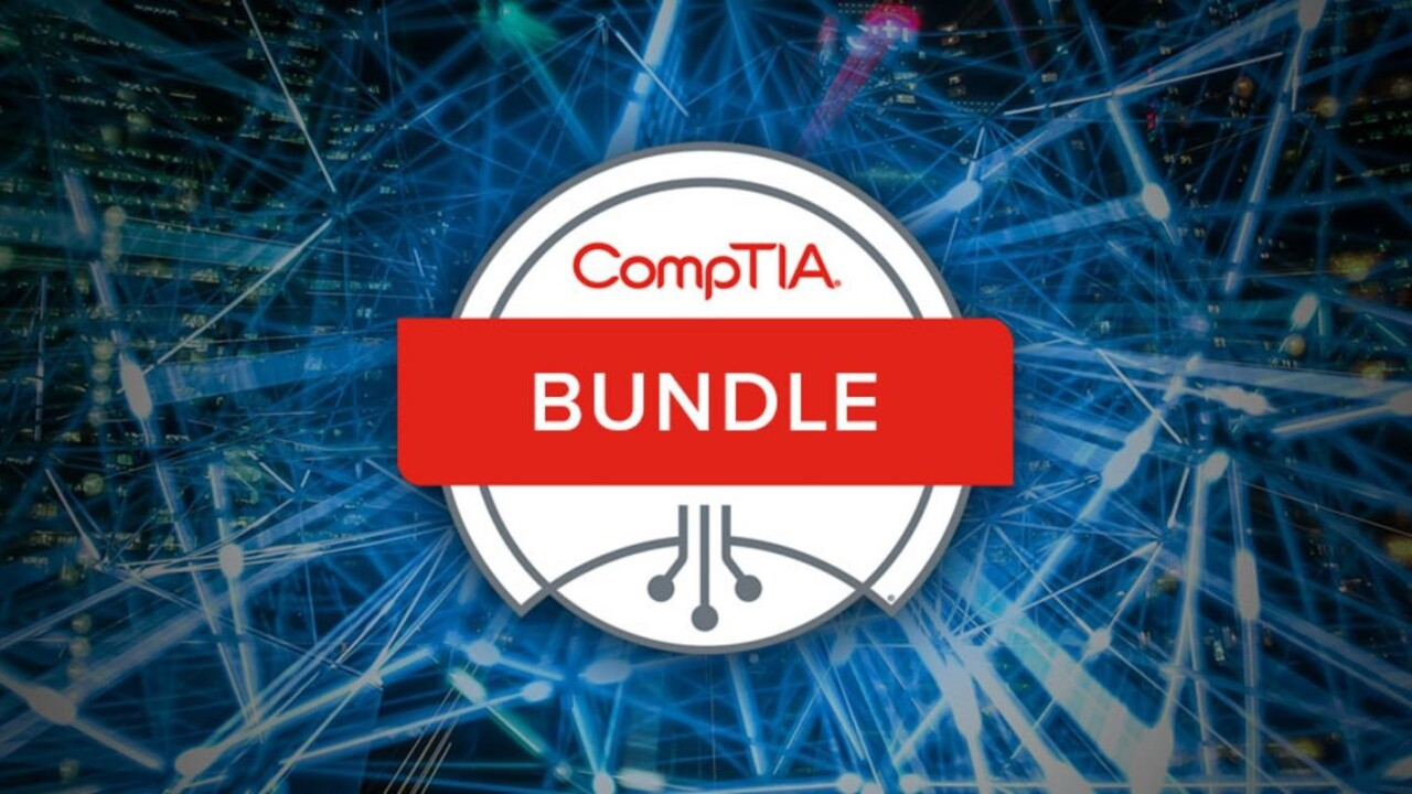 Prep for multiple CompTIA certification exams for less than $5 per course