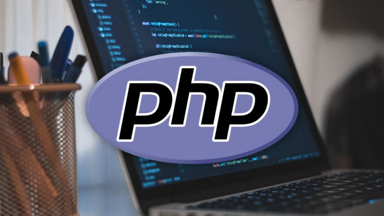 Dynamic website building starts with PHP; learn what it does for only $19.