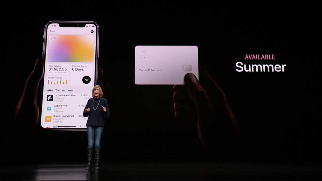 Apple announces Apple Card, a titanium credit card that aims to revolutionize payments