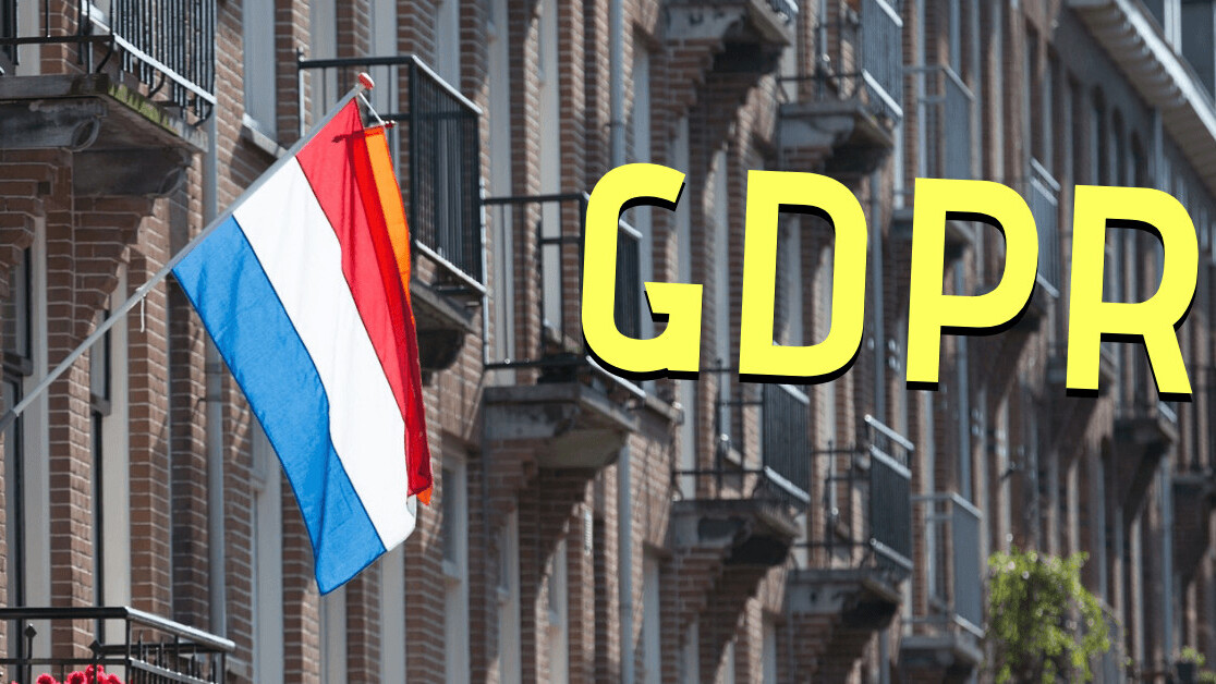 The Netherlands premieres the first GDPR fining policy in the EU
