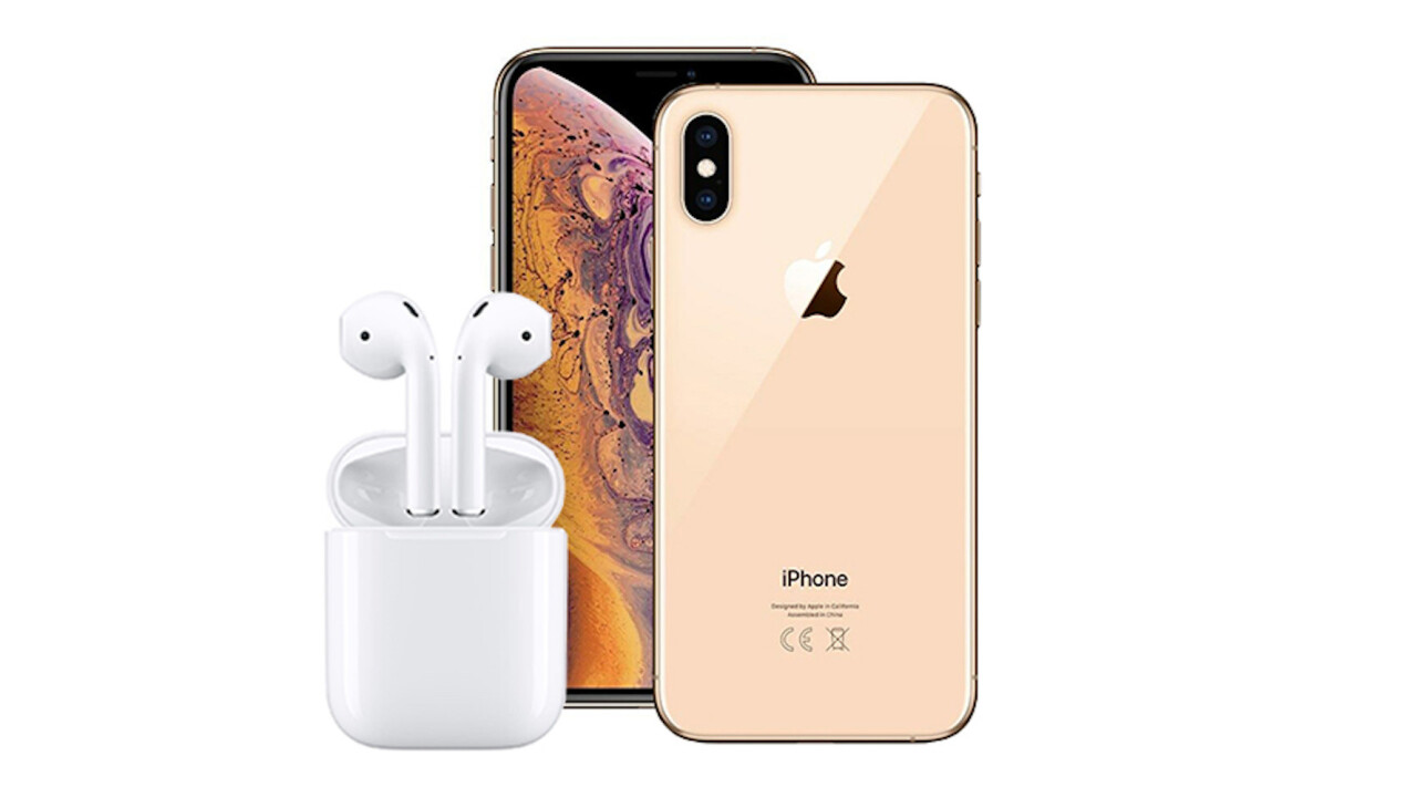 Enter to win an iPhone XS Max & AirPods in this free giveaway