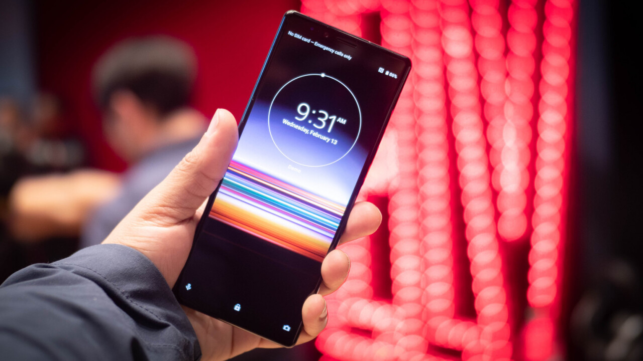 Xperia 1 and 10 hands-on: Sony makes the case for super-tall phones