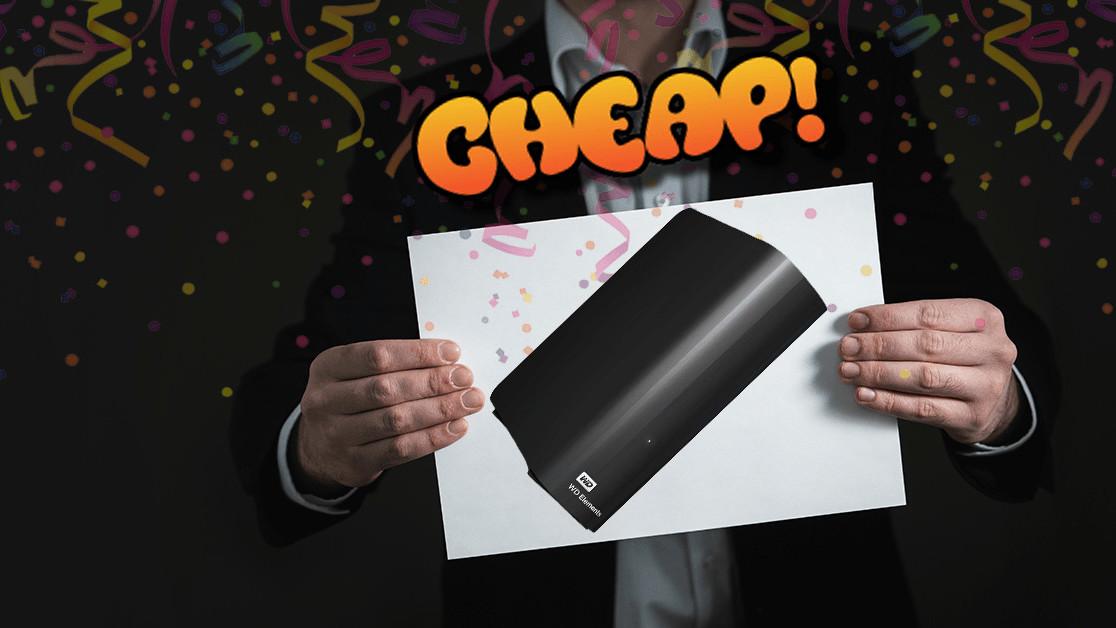 CHEAP: Fast, get 42% off this 6TB (!) Western Digital external HDD