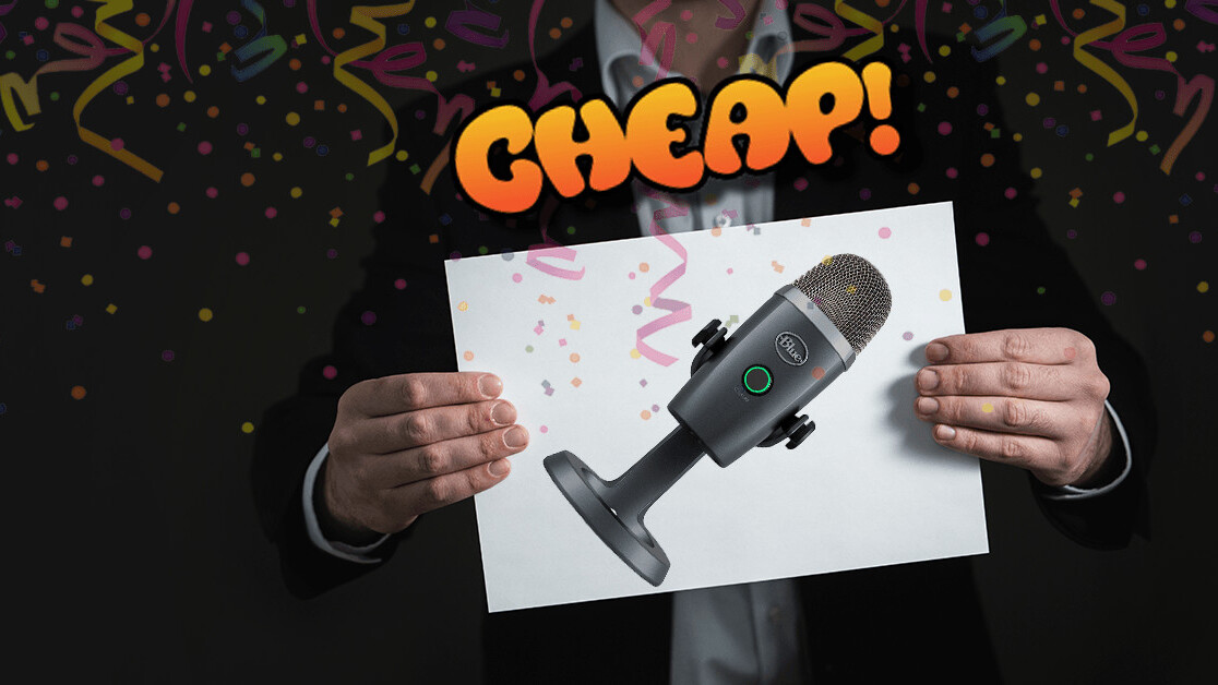 CHEAP: 20% off the Blue Yeti Nano USB mic is the perfect excuse to start a podcast